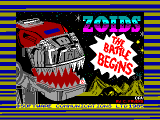 ZOIDS — ZX SPECTRUM GAME ИГРА