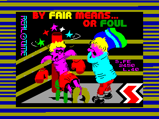 By Fair Means...or Foul — ZX SPECTRUM GAME ИГРА