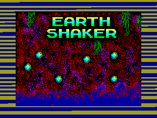 Earth Shaker — ZX SPECTRUM GAME ИГРА