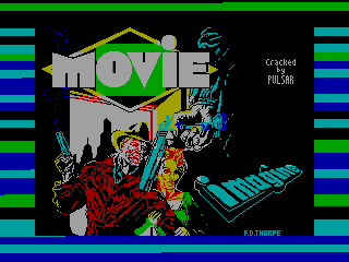 MOVIE — ZX SPECTRUM GAME ИГРА