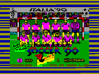 Italia '90 - World Cup Soccer — ZX SPECTRUM GAME ИГРА