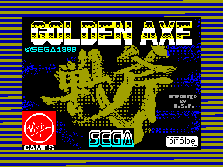 Golden Axe — ZX SPECTRUM GAME ИГРА