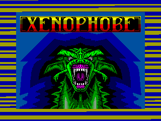 Xenophobe — ZX SPECTRUM GAME ИГРА