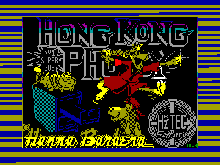 Hong Kong Phooey — ZX SPECTRUM GAME ИГРА