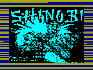 Shinobi — ZX SPECTRUM GAME ИГРА