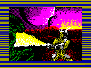 Trantor: The Last Stormtrooper — ZX SPECTRUM GAME ИГРА