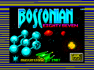 Bosconian '87 — ZX SPECTRUM GAME ИГРА