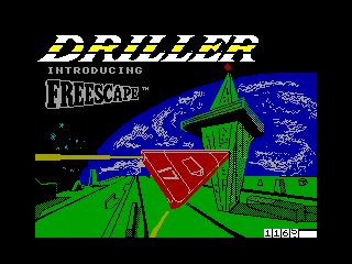 Driller — ZX SPECTRUM GAME ИГРА