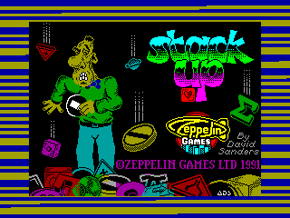 Stack Up — ZX SPECTRUM GAME ИГРА