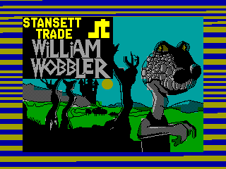 William Wobbler — ZX SPECTRUM GAME ИГРА