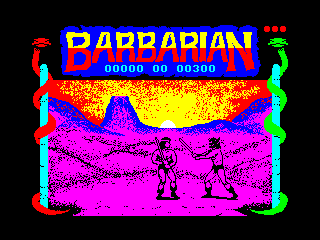 Barbarian — ZX SPECTRUM GAME ИГРА