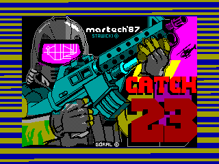 Catch 23 — ZX SPECTRUM GAME ИГРА