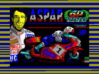 Aspar GP Master — ZX SPECTRUM GAME ИГРА