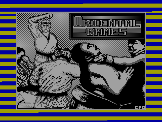 Oriental Games — ZX SPECTRUM GAME ИГРА