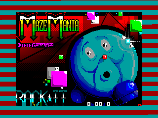 Mazemania — ZX SPECTRUM GAME ИГРА