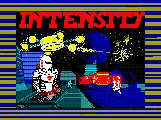 Intensity — ZX SPECTRUM GAME ИГРА