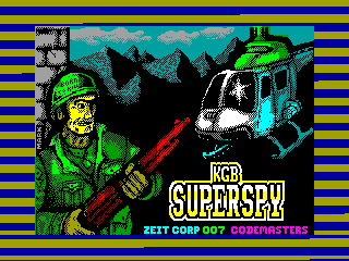 KGB Superspy — ZX SPECTRUM GAME ИГРА