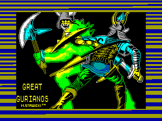 Great Gurianos — ZX SPECTRUM GAME ИГРА