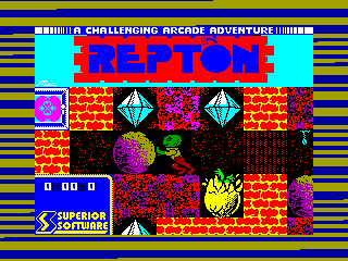 Repton — ZX SPECTRUM GAME ИГРА