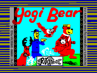 Yogi Bear — ZX SPECTRUM GAME ИГРА