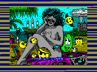 Toi Acid Game — ZX SPECTRUM GAME ИГРА