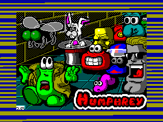 Humphrey — ZX SPECTRUM GAME ИГРА