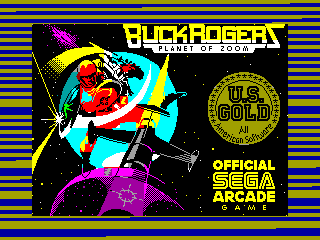 Buck Rogers: Planet of Zoom — ZX SPECTRUM GAME ИГРА