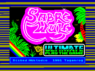 Sabre Wulf — ZX SPECTRUM GAME ИГРА