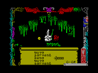 DRAGONTORC — ZX SPECTRUM GAME ИГРА