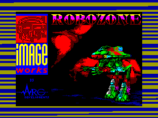 Robozone — ZX SPECTRUM GAME ИГРА
