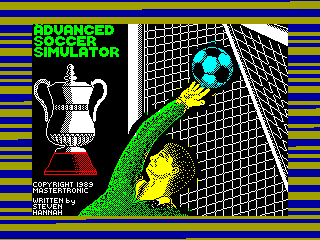 Advanced Soccer Simulator — ZX SPECTRUM GAME ИГРА
