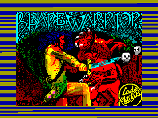 Blade Warrior — ZX SPECTRUM GAME ИГРА