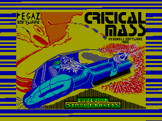 Critical Mass — ZX SPECTRUM GAME ИГРА