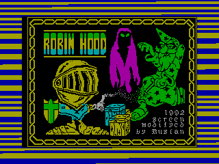 ROBIN HOOD — ZX SPECTRUM GAME ИГРА