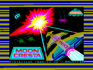 MOON CRESTA — ZX SPECTRUM GAME ИГРА