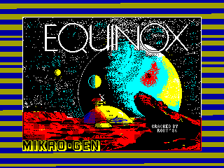 Equinox — ZX SPECTRUM GAME ИГРА