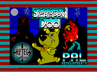 SCOOBY & SCRAPPY DOO — ZX SPECTRUM GAME ИГРА