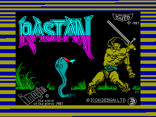 RASTAN SAGA — ZX SPECTRUM GAME ИГРА
