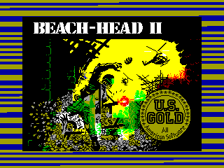 Beach-Head II — ZX SPECTRUM GAME ИГРА