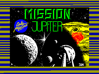 Mission Jupiter — ZX SPECTRUM GAME ИГРА