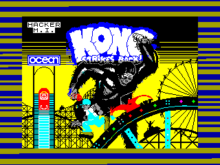 Kong Strikes Back — ZX SPECTRUM GAME ИГРА