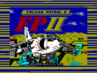 Falcon Patrol 2 — ZX SPECTRUM GAME ИГРА
