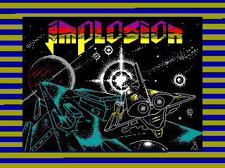 Implosion — ZX SPECTRUM GAME ИГРА
