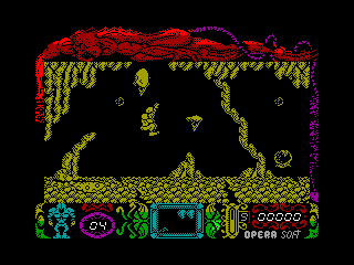 Mutant Zone — ZX SPECTRUM GAME ИГРА