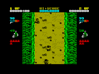 Ikari Warriors — ZX SPECTRUM GAME ИГРА