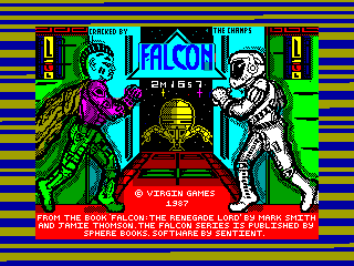 Falcon: The Renegade Lord — ZX SPECTRUM GAME ИГРА