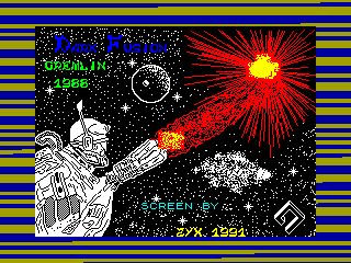 Dark Fusion — ZX SPECTRUM GAME ИГРА