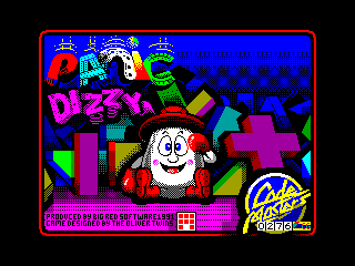 Panic Dizzy — ZX SPECTRUM GAME ИГРА