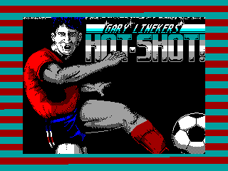 GARY LINEKER'S HOT-HOT! — ZX SPECTRUM GAME ИГРА