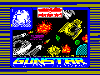 Gunstar — ZX SPECTRUM GAME ИГРА